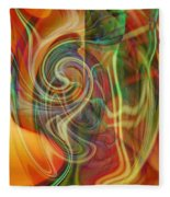 Mindtrip Fleece Blanket