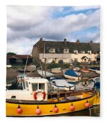 Minehead Sommerset Fleece Blanket