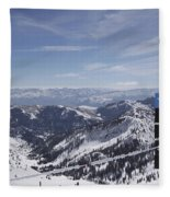 Mineral Basin Fleece Blanket