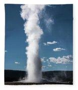 Old Faithful Eruption Fleece Blanket