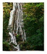 Mingo Falls - Gsmnp Fleece Blanket