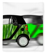 Mini Cars Fleece Blanket