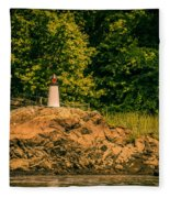 Mini Lighthouse Fleece Blanket
