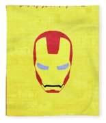 Minimal Movie Poster I Fleece Blanket