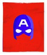 Minimal Movie Poster IIi Fleece Blanket