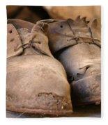 Mining Shoes  Langban Sweden Fleece Blanket
