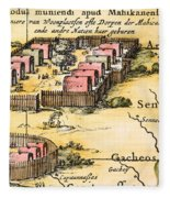 Minisink Village, 1650s Fleece Blanket