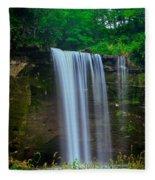 Minneopa Falls Fleece Blanket