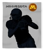 Minnesota Football Fleece Blanket