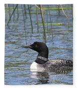 Minnesota State Bird Fleece Blanket