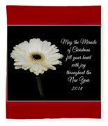 Miracle Of Christmas Fleece Blanket