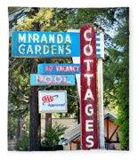 Miranda Gardens Fleece Blanket