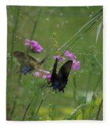 Mirror Image Fleece Blanket