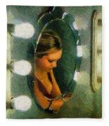 Mirror Mirror On The Wall Fleece Blanket