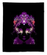 Mirror Wisdom Fleece Blanket