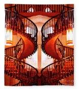 Mirrored Stairs Fleece Blanket