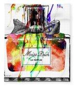 Miss Dior Grunge Fleece Blanket