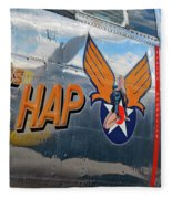 Miss Hap Fleece Blanket