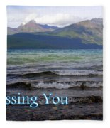 Missing You 1 Fleece Blanket