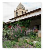 Mission Bells And Garden Fleece Blanket