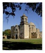 Mission San Jose Y San Miguel De Aguayo. Church. Fleece Blanket