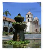 Mission Fountain Fleece Blanket