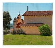 Mission San Antonio De Padua, Jolon, California Fleece Blanket