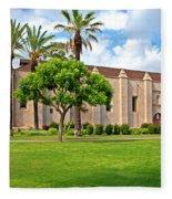 Mission San Gabriel Arcangel, San Gabriel, California Fleece Blanket