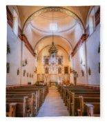 Mission San Jose Chapel Glow Fleece Blanket