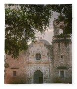 Mission San Jose In San Antonio Fleece Blanket