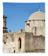 Mission San Jose Towers Fleece Blanket
