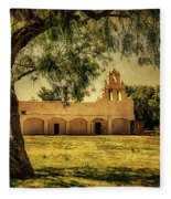 Mission San Juan Church Fleece Blanket