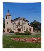 Mission Santa Clara De Asis Fleece Blanket