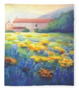 Mission Wildflowers Fleece Blanket