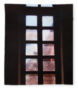 Mission Window Fleece Blanket