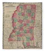Mississippi Fleece Blanket