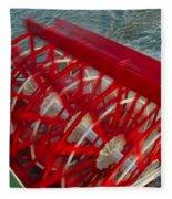 Mississippi River Sternwheeler - New Orleans Fleece Blanket