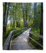 Mississippi Riverwalk Trail - Carleton Place, Ontario Fleece Blanket
