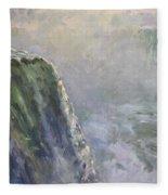 Mist At Horseshoe Falls  Fleece Blanket