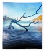 Mists Of The Morning Fleece Blanket