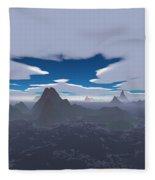 Misty Archipelago Fleece Blanket