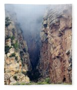 Misty Canyons Fleece Blanket