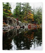 Misty Fall Fleece Blanket