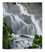 Misty Falls Fleece Blanket