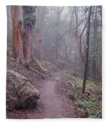 Cloud Forest- Mount Sutro Fleece Blanket