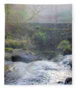 Misty Morning  Fleece Blanket