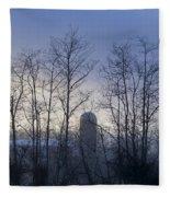Misty Mornings  Fleece Blanket