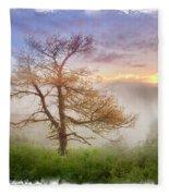 Misty Mountain Fleece Blanket