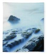 Misty Ocean Fleece Blanket