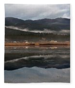 Misty Reflections Fleece Blanket